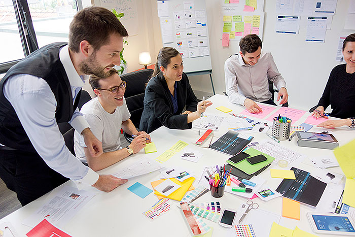 Agence Usabilis Design de service : atelier co-creation