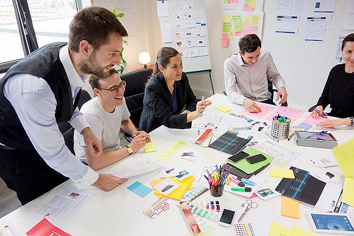 Agence Usabilis Design de service : atelier co-creation