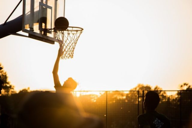 Basketball joueur
