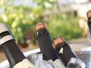 Export du champagne français
