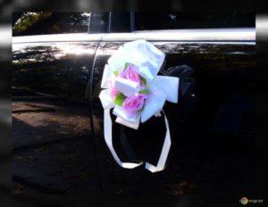 Déco de voiture de mariage