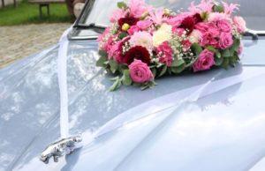 Idée déco de voiture pour un mariage