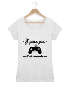 Tshirt Geek femme