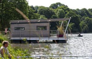 Cabane flottante Aquashell