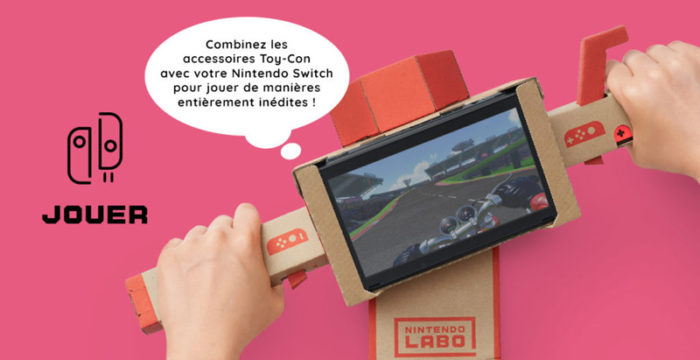 Nintendo labo jouer