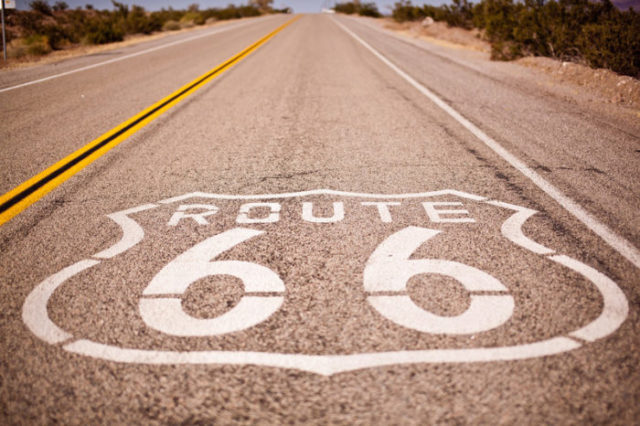 Logo de la Route 66