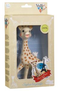 Sophie la Girafe : cadeau bébé tendance