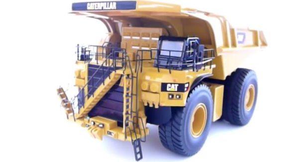 reproductions de véhicules de travaux