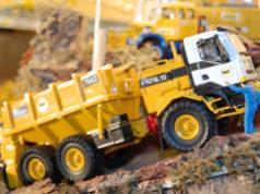 véhicules de travaux miniatures