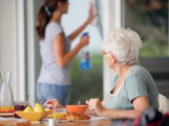 Assistance aide et nettoyage personne agée