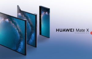 Smartphone pliable Huawei
