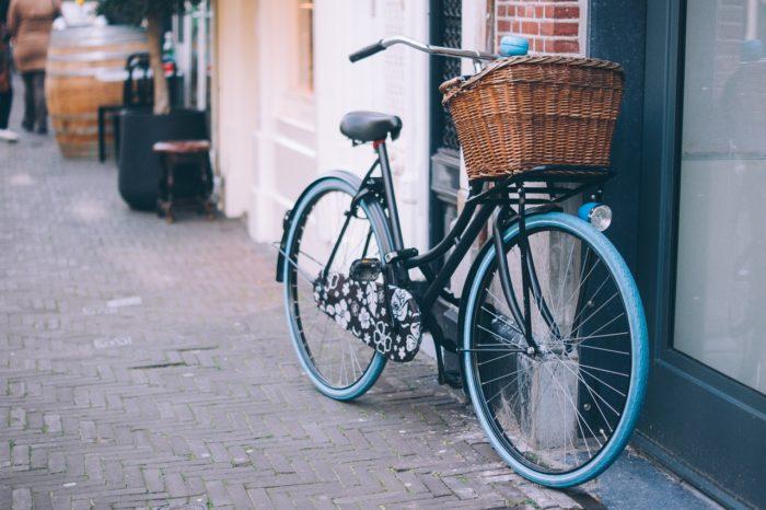 vélo urbain de ville