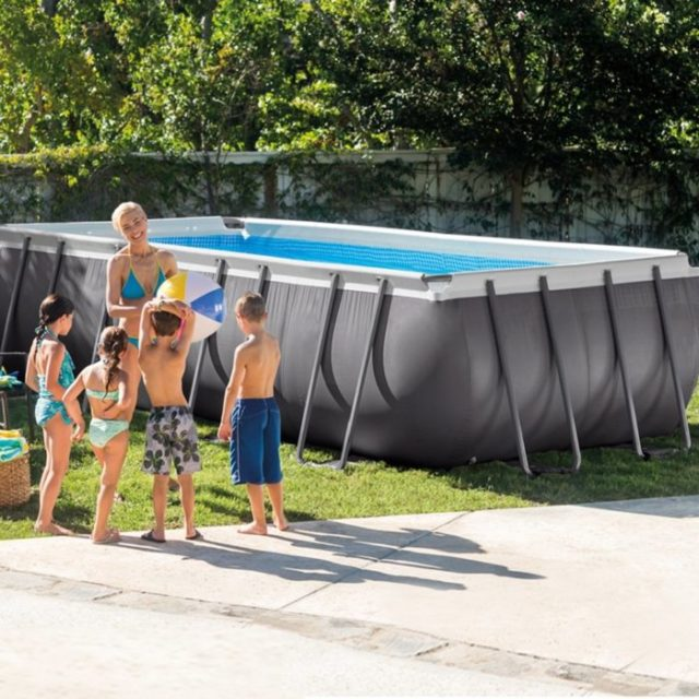 piscine hors sol ronde Mably