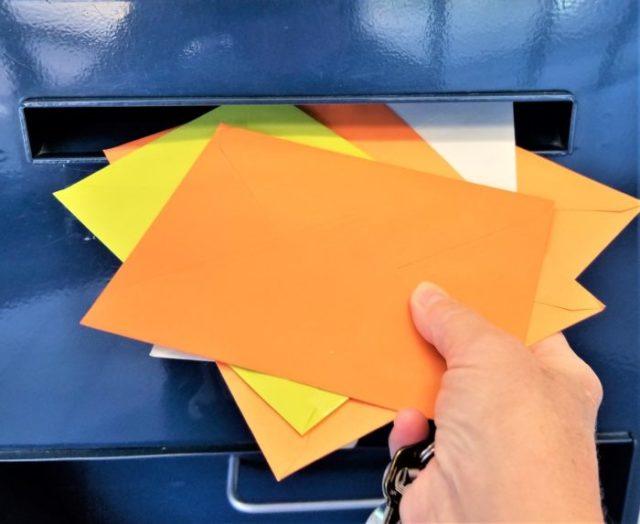 type de courrier