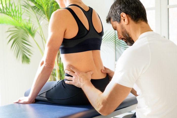 osthéopathe et mal de dos