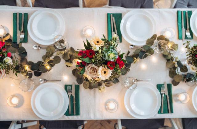 Table de mariage sur Internet