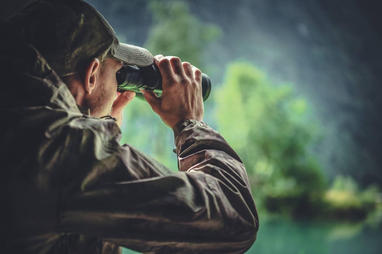 camouflage à la chasse