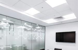 Dalles LED pour le bureau
