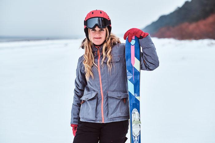 vêtement femme de ski