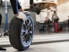 Zoom sur le pneu runflat