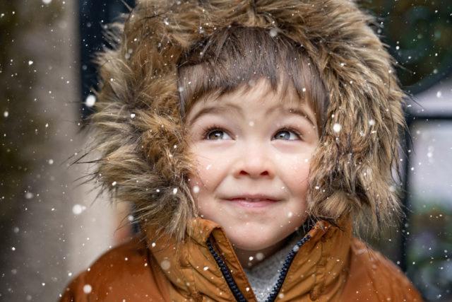 tenue hiver enfant