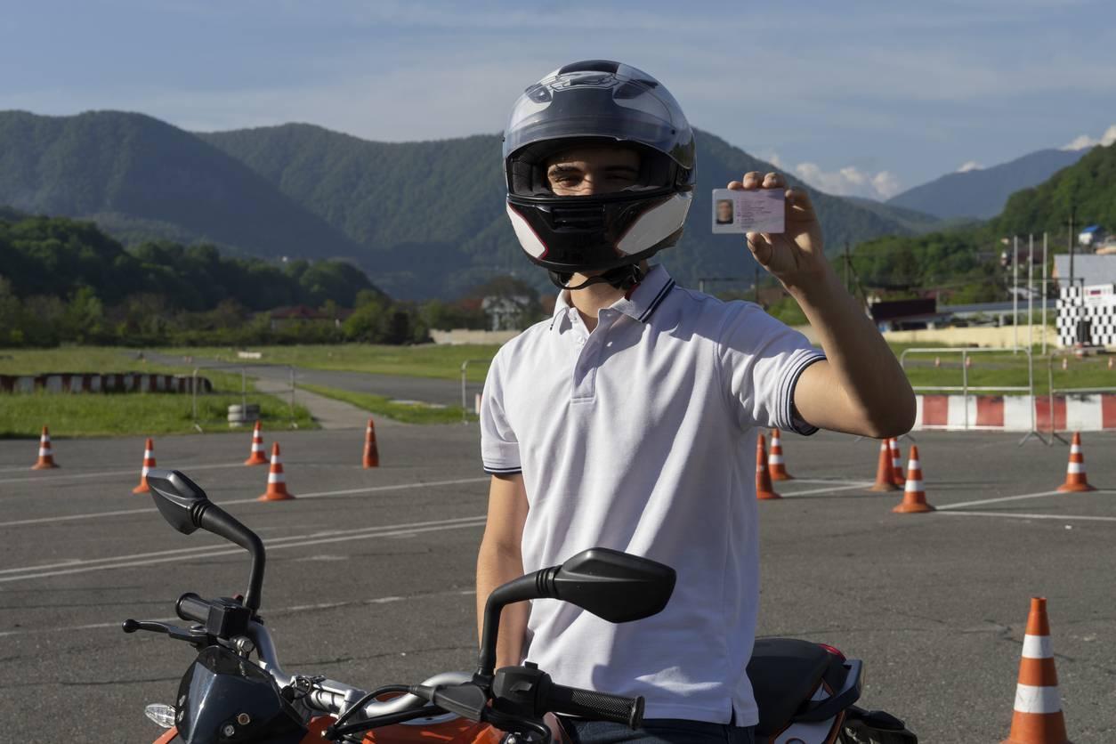 permis code moto
