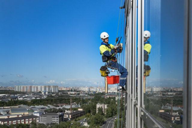 sécurité travail en hauteur