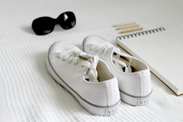 Sneakers blanches femme
