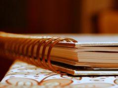 reliure document