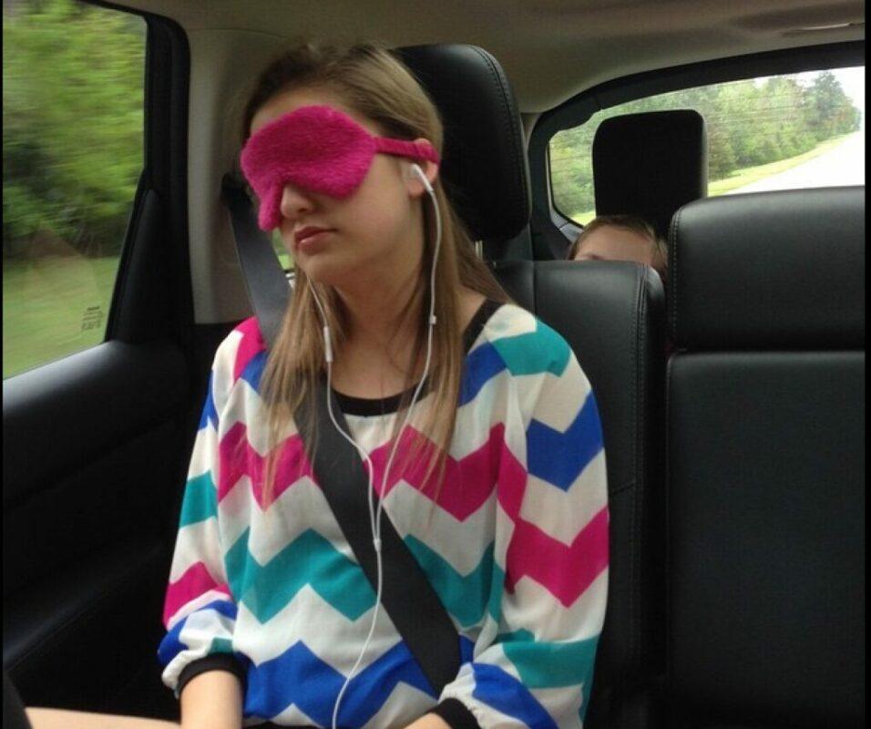 voyage et masque de sommeil 1
