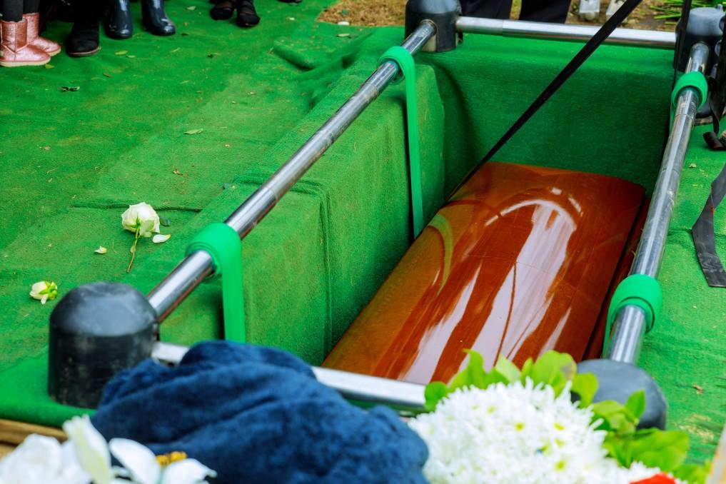 Service d'inhumation période covid